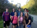 Cornell's New Members Go Hiking