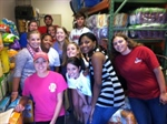 NC SPCA Food Pantry Service Project