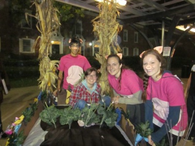 Cook Chapter Participates in Bedraces