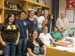 Cook Chapter Starts Dinners with Faculty