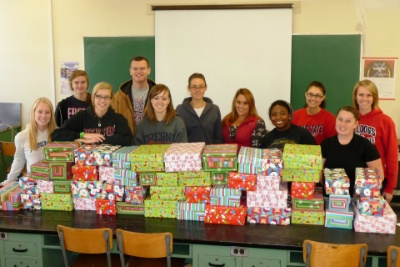 "Cal Epsilion Gives Back-""Project Shoebox"""