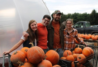 Cornell Chapter: All You Can Carry Pumpkins and Carving!
