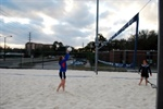 UF Intramural Beach Volleyball Game 2/26/12