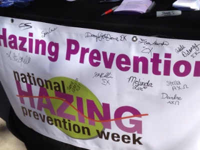 Anti-Hazing Week