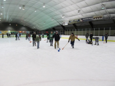 AZ Cornell-Rush Week Broomball