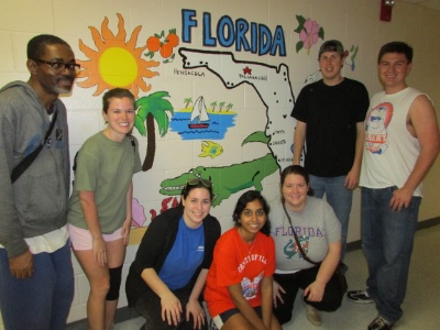 The Florida Chapter Helps Makeover Elementary School for Project Makeover