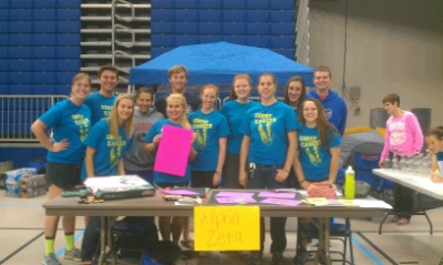 UF Chapter participates in Relay For Life 2013