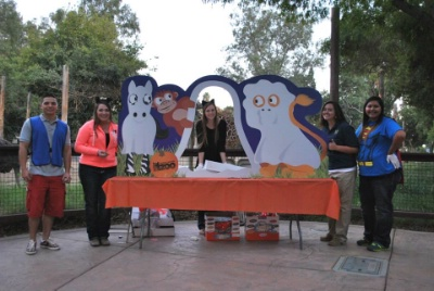 Alpha Zeta - Cal Epsilon Volunteer's at Annual Fresno Chaffee Zoo, Zoo Boo Event