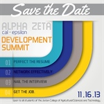 Alpha Zeta - Cal Epsilon Launches Save the Date for Annual Development Summit