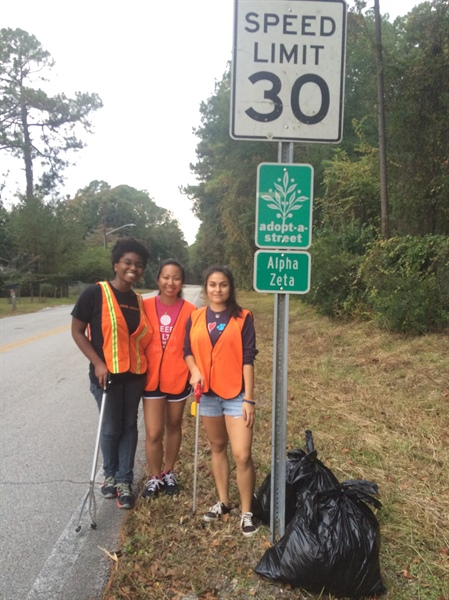 Florida Chapter Road Clean Up