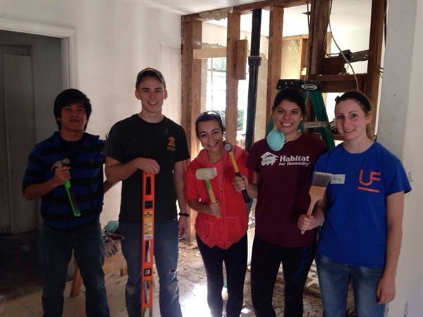 Florida Chapter Habitat for Humanity Service Event