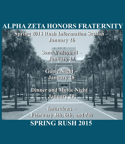 Florida Chapter Spring Rush
