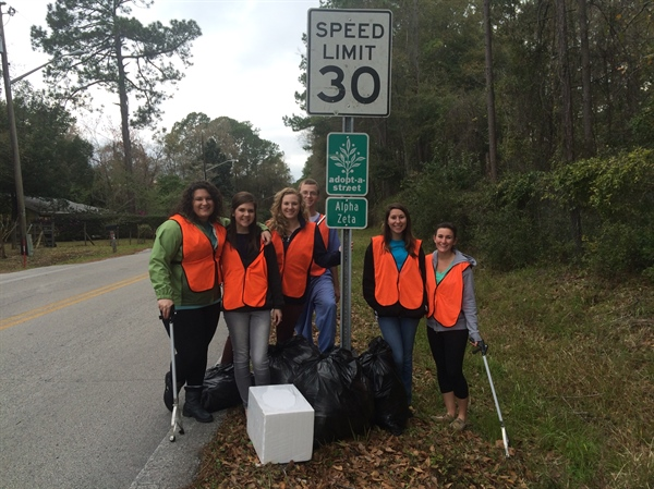 Florida Chapter Road Clean-Up