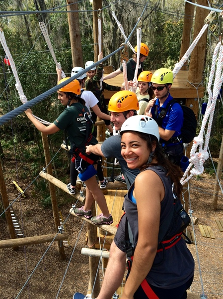 Florida Chapter High Ropes Course