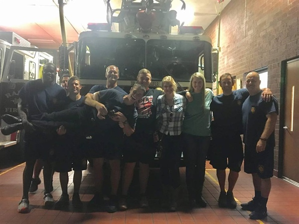 NC Chapter Feeds Our Local Heroes