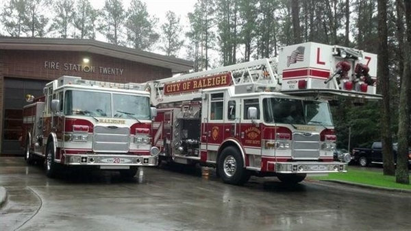 NC Chapter Brings a Delicious Meal to Local Firefighter's