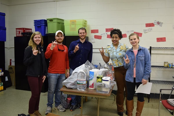 NC Chapter Feed the Pack Food Pantry
