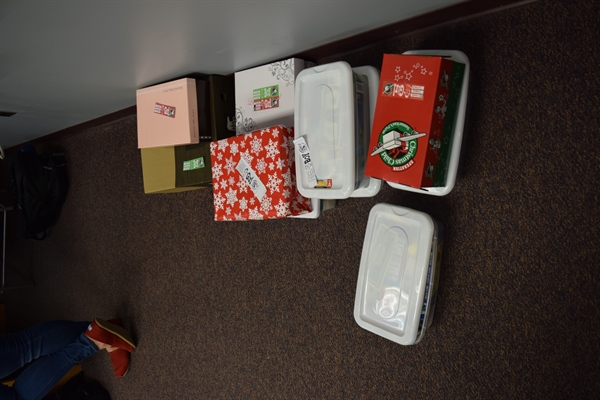NC Chapter Donates to Operation Christmas Child