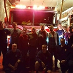NC Chapter Shows Local Firefighter's Our Appreciation