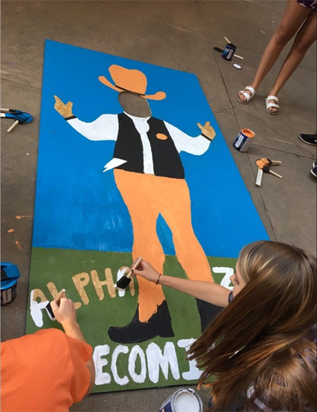 Oklahoma Chapter Participates in Homecoming Events