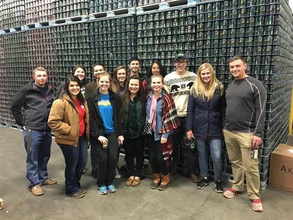 NC Chapter learns how to make a Brewskie