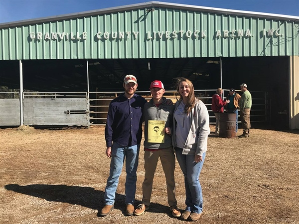 North Carolina Chapter Travels to a Bull Sale