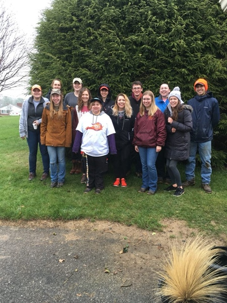 Virginia Chapter Participates in Virginia Tech's Big Event