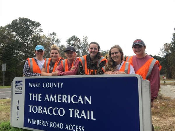 North Carolina Chapter Cleans Up the Highway