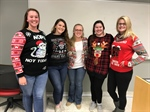North Carolina Chapter Has an Ugly Christmas Sweater Contest