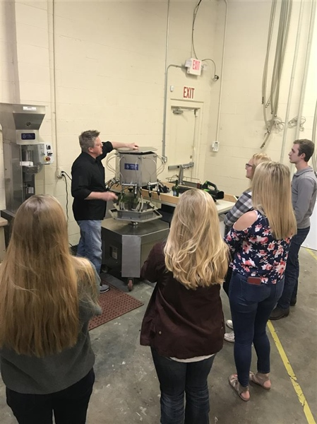 North Carolina Chapter Tours Chatham Hill Winery