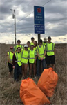 Wilson Chapter's Semester Highway Clean Up