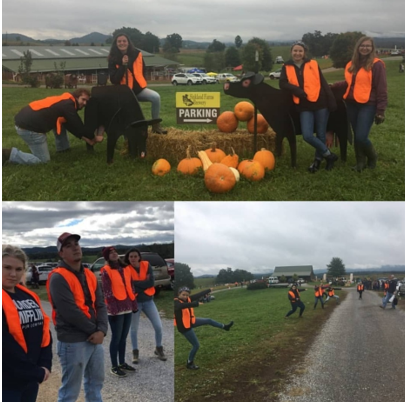 Virginia Chapter had a great service event at Sinkland Farms.
