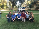 Cal Eta Chapter participates in College of Ag Ice Cream Social and talking about Alpha Zeta