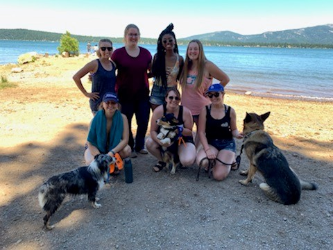 Cal Eta Chapter traveled to Lassen National Forest
