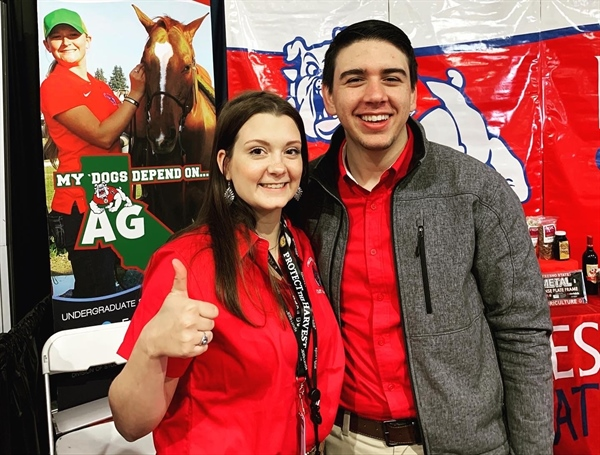 Fresno State/California Epsilon Chapter took over the AG Expo in Tulare this month!