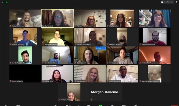 Cal Epsilon held their first virtual meeting for the 2020-2021 year!