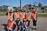 North Carolina Chapter Participates in an Adopt-A-Highway Clean-up