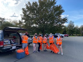 North Carolina Chapter Adopt-A-Highway Clean-up: Part 2