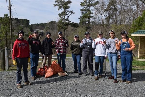 North Carolina Chapter participated in the Haw River Clean-Up-A-Thon