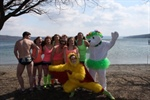 AZ Cornell at the Ithaca Polar Plunge