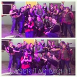 Cal-Epsilon lAZer tag activity night