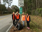 Florida Chapter's First Road Clean Up of 2014