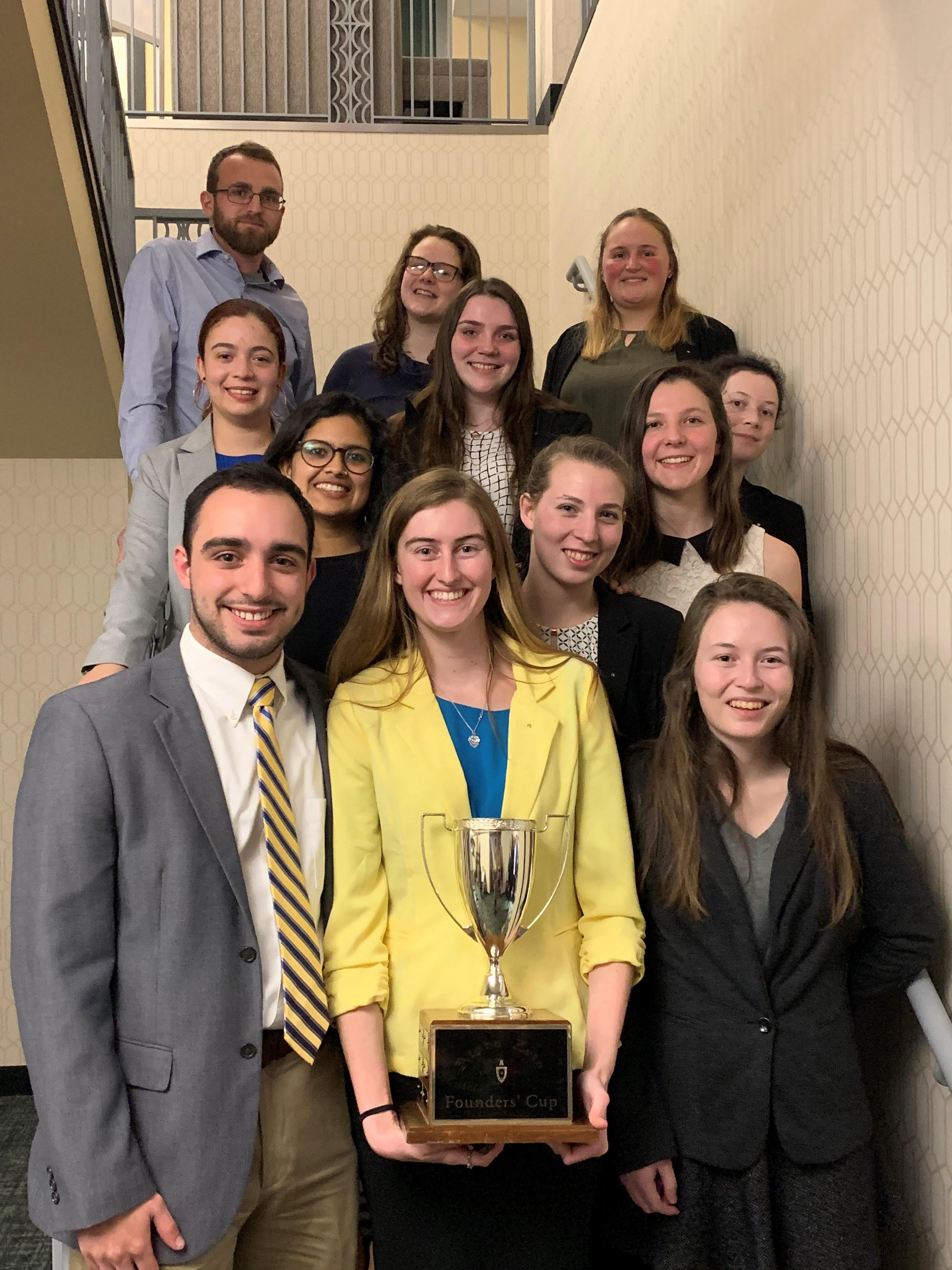 Cornell Wins 2019 Founder's Cup